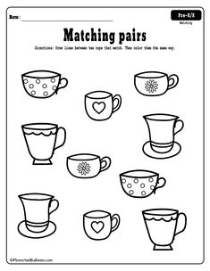 Ffree printable matching worksheets for PRESCHOOL! Theme neutral worksheets I can use year round. I will add these to my matching ACTIVITIES for preschoolers file folder for sure. 3 Year Old Worksheets, Fun Worksheets For Kids, Matching Worksheets, Printable Preschool Worksheets, Kindergarten Math Worksheets, Free Printable, 3 Year Old Preschool, 3 Year Old Activities, Preschool Learning Activities