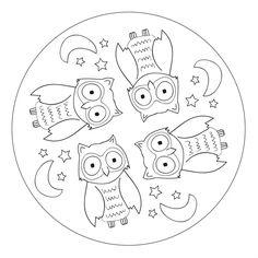 owl mandala - Buscar con Google