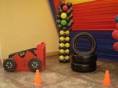 DECORACIONES DE FIESTAS INFANTILES , HOT WHELLS ,SRA. LIDIA 450-4413 - Lima Callao