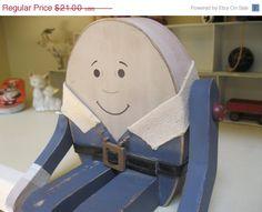 ON SALE... Vintage Primitive Wood Shelf Sitting by Sisters2Vintage,