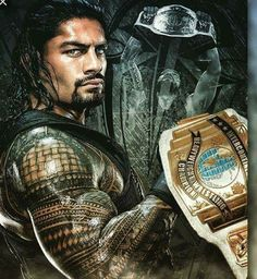 Roman Reigns is the champion & sexy as hell ❤❤❤❤