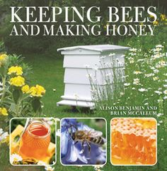 Keeping Bees And Making Honey - Bee Gardens: Flowers, Fruit, & Herbs for a Bee- Friendly Habitat Raising Bees, Mother Earth News, Save The Bees, Hobby Farms, Farm Gardens, Bee Keeping, The Ranch, Aquaponics, Gardening Tips