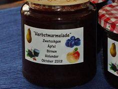 Herbstmarmelade, ein schmackhaftes Rezept aus der Kategorie Herbst. Bewertungen: 71. Durchschnitt: Ø 4,7.