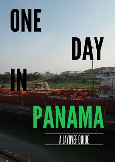 Only have one day in Panama City or have a long connection between flights? This schedule of things to do in Panama City is great for short visits!  Full itinerary at http://thegirlandglobe.com/things-to-do-in-panama/