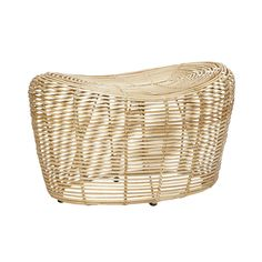 Nature rattan stool. Product number: 110102 - Designed by Hübsch