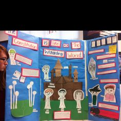 The Constitution is like Harry Potter Movie.  Constitution metaphor projects.  U.S History class. 8th grade