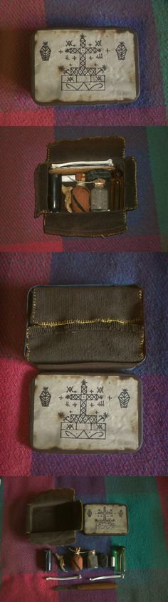 Box for the Baron - pocket Voodoo altar by ~Lord-Vincent on deviantART