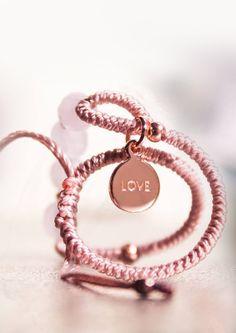 "cute 'love"" tag bracelet I #NEW1SPRING"
