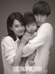 """Sweet photo of Tablo and his wife, Kang Hye Jung in """"Letters From Angels"""" campaign for Cosmopolitan magazine"""