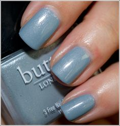 Butter London Lady Muck Nail Lacquer - My new favorite. Goes on really well, and is nice and flat.