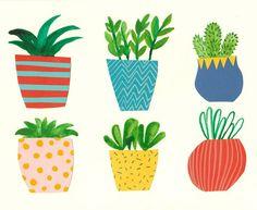 Resultado de imagen para cactus illustration tumblr