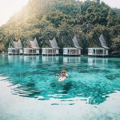 Club Tara Resort in the Philippines. Wanderlust bucket list of places to travel and a visit on a vacation trip. Places to visit in Southeast Asia. Oh The Places You'll Go, Places To Travel, Travel Destinations, Places To Visit, Tourist Places, Voyage Philippines, Philippines Travel, Siargao Philippines, Philippines Resorts