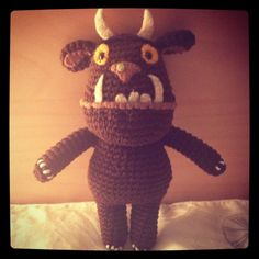Oh help! Oh no! It's a nearly finished Gruffalo | By Hook or By Crook (no pattern)
