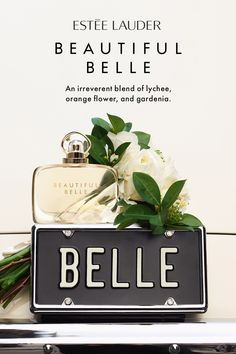 Can we say best bridesmaid gift ever? Be prepared for your next bridal shower with Estée Lauder's Beautiful Belle. Romantic notes of rose and gardenia blend with unexpected lychee and mimosa. Beauty Secrets, Beauty Hacks, Romantic Notes, Estee Lauder Beautiful, Perfume Fahrenheit, Perfume Invictus, Best Bridesmaid Gifts, Beauty Makeup, Hair Beauty