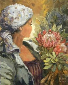 South African Artists, Fabric Painting, Female Art, Coloring Pages, Art Women, Art Things, Inspiring Art, Inspiration, Image