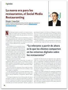 """""""La nueva era para los restaurantes, el Social Media Restauranting"""""""