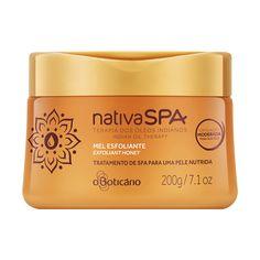 Nativa Spa Mel Esfoliante Desodorante Corporal Terapia dos Óleos Indianos, 200g - O Boticario