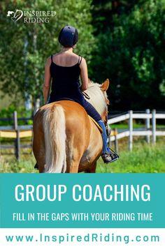 Get one-on-one horseback riding instruction to build your confidence in the saddle. Horseback Riding Tips, Horse Behavior, Horse Training Tips, How To Gain Confidence, Horse Riding, Equestrian, Coaching, Communication, Horses