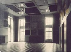 Aubette, Place Kléber, Strasbourg (Ciné-dancing; Café-restaurant; Grande Salle des Fêtes), ca. 1928