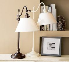 Adair Bedside Lamp #potterybarn