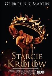Żelazny Tron jednoczył Zachodnie Królestwa aż do śmierci króla Roberta. Wdowa jednak zdradziła królewskie ideały, bracia wszczęli wojnę, a Sansa została narzeczoną mordercy ojca, który teraz okrzyknął się królem. Zresztą w każdym z królestw, od Smoczej Wyspy po Koniec Burzy, dawni wasale Żelaznego Tronu ogłaszają się królami. Pewnego dnia z Cytadeli przylatuje biały kruk, przynosząc zapowiedź...tom2