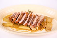 Clinton Kelly's Roasted with Pork Tenderloin with Apples -  Apples, Shallots, and Garlic