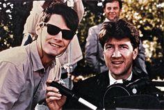Kyle MacLachlan and David Lynch.