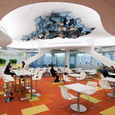 Photo 2: Philips North America Office Architecture, Alternative Workplace Strategies, Interior Architecture, Interior workspaces, Open work ...