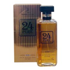24 Pure 3.3oz. EDT by Dorall Collection at iPerfumeNetwork.com : 24 Pure is our impression of One Million by Paco Robanne. #fragrances #designer_fragrances #perfumes #designer_perfumes  #cologne