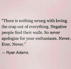 Radiate positivity!
