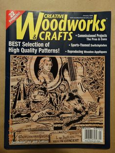 2008 Woodworks & Crafts Magazine Sports Wood by TheIDconnection, $15.00