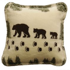 You'll love the Bear Throw Pillow at Wayfair - Great Deals on all Décor products with Free Shipping on most stuff, even the big stuff.