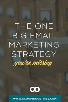 Are you making this big email mistake? // If you run an online-based business, email marketing is the most important tool you have. *PIN* this how-to and use list segmentation and tagging to grow your small business.