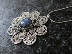 Jewelry NecklaceSilver necklace Israel jewelry by MorSilverJewelry