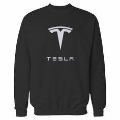 Tesla Logo, Graphic Sweatshirt, Sweatshirts, Trainers, Sweatshirt, Sweater, Hoodie, Hoodies, Sweaters