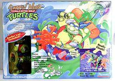 Playmates Toys TMNT Teenage Mutant Ninja Turtles Surfer Leo MISB Mondo Tube c-7 Ninja Turtle Toys, Teenage Mutant Ninja Turtles, Modern Toys, 90s Toys, Custom Action Figures, Toys Photography, Tmnt, Cool Toys, Surfing