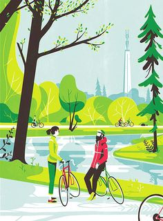 Tom Haugomat - New Signing — Handsome Frank Illustration Agency Art And Illustration, American Illustration, People Illustration, Illustrations And Posters, Magazine Illustration, Animal Illustrations, Design Illustrations, Creative Illustration, Bicycle Art