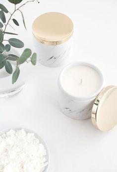 DIY gifts: DIY Soy Candles Tutorial