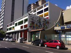Projeto para Programação visual Interna e Externa - Prédio Garagem - Centro de Porto Alegre/RS - Arq. Dariana Tessari e arq. Rafael Rangel - artista: Fábio Panone Lopes