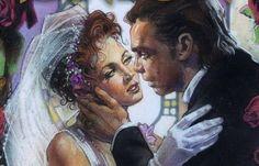 Mara Jade and Luke skywalker wedding. Oh how I wish they were still Canon <3