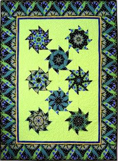 I teach classes at local stores and at my retreats on how to make this fun Stack n Whack quilt