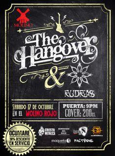 """El Molino presenta: """"The Hangover & Rudras"""" http://crestametalica.com/events/el-molino-presenta-the-hangover-rudras/ vía @crestametalica"""
