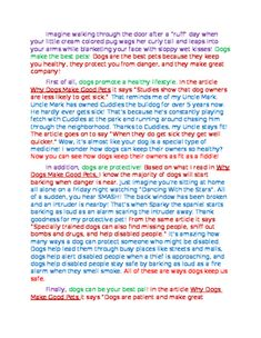 This model opinion essay is a great way to show your students what a finished product should include! The essay claims that dogs are the best pets (because they are!) and includes text evidence and various types of elaboration. Each part of the essay is color coded so students can see each element of the essay! (Hook, claim, reasons, text evidence, elaboration, transitions) You can even print it out and have them color code while you show the model!