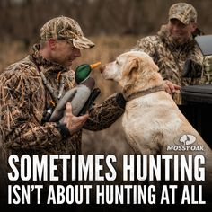 Sometimes hunting isn't about hunting at all. #mossyoak