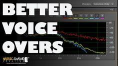 Five Adobe Audition CC Effects To Better Quality Voice Overs Sehr gute Tipps für bessere Podcast Aufnahmen in Englisch