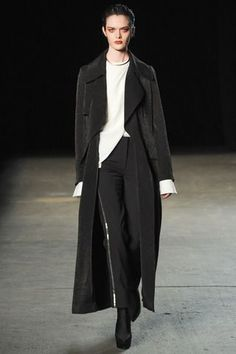 """TAKE AN AVANT GARDE PIECE AND ADD IT TO MORE STRUCTURED ONES SO THE CONTRAST IS """"VIVID."""" : Zyla Rec Yohji Yamamoto"""