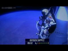 Felix Baumgartner freefalls from the edge of space. Full jump 12:37. Could use at the beginning of the gravity unit.