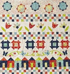 Free row quilt pattern