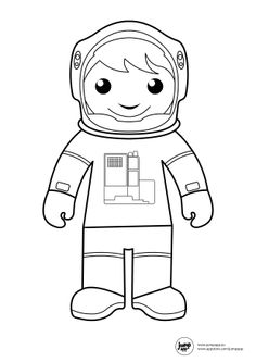 astronaut coloring page reedit Community Workers, Community Helpers, School Community, 3d Pencil Drawings, Cartoon Drawings, Train Coloring Pages, Coloring Books, Math Subtraction Worksheets, Touch Math