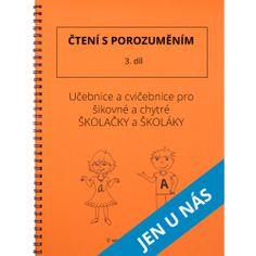 Čtení s porozuměním - 3. díl Thing 1, Prepositions, Home Schooling, Math Worksheets, Best Sellers, Alphabet, Language, Lily, Teacher